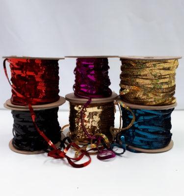 Paillettenband enkelvoudig
