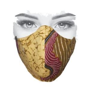 mondkapje afrikaanse print